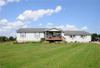 Guernsey County Single Family Home For Sale: 55050 Iowa Road