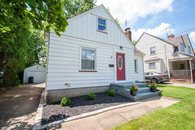 Boardman OH Single Family Home For Sale: $79,900