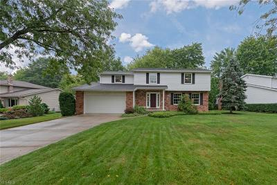 Solon Single Family Home Active Under Contract: 37102 Deer Run