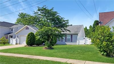 North Ridgeville Single Family Home Active Under Contract: 33960 Floraline Street