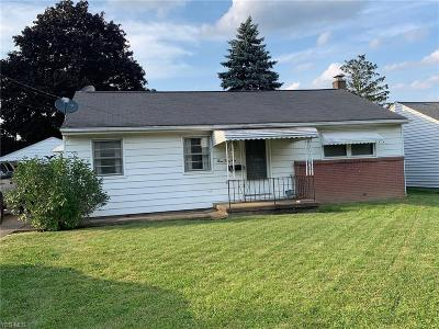 Struthers Single Family Home Active Under Contract: 359 W Omar Street