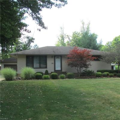 Strongsville Single Family Home For Sale: 21519 Willow Lane