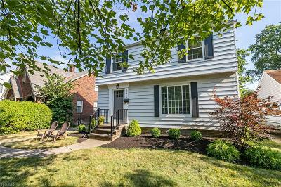 Rocky River Single Family Home Active Under Contract: 20360 Bonnie Bank Boulevard