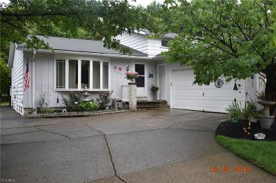 Strongsville Single Family Home Active Under Contract: 20324 Homestead Park Drive