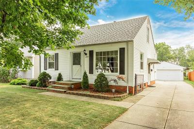Mayfield Heights Single Family Home For Sale: 1407 Commonwealth Avenue
