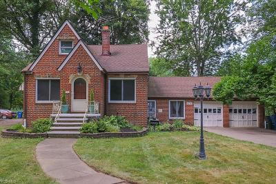 North Olmsted Single Family Home For Sale: 4374 Clague Road