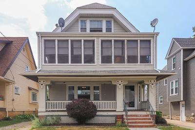 Lakewood Multi Family Home Active Under Contract: 1500 Elmwood Avenue