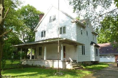 Struthers Single Family Home Active Under Contract: 356 Poland Avenue