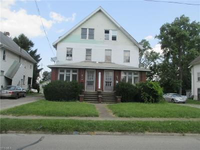 Struthers Multi Family Home For Sale: 241-243 Sexton Street