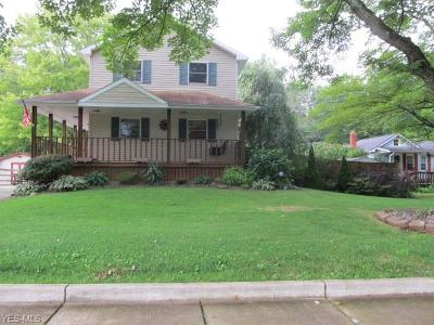 Leavittsburg Single Family Home Active Under Contract: 4558 Eagle Creek Road