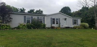 New Concord OH Single Family Home For Sale: $120,000