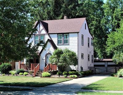 Cleveland OH Single Family Home Active Under Contract: $175,000