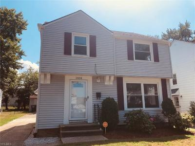South Euclid Single Family Home For Sale: 3806 Merrymound Road