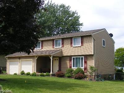 North Royalton Single Family Home Active Under Contract: 8800 Christopher Drive