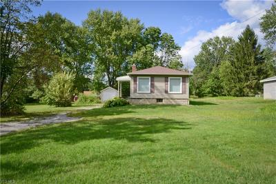 Boardman OH Single Family Home For Sale: $59,900
