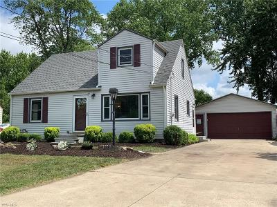 Willoughby Single Family Home For Sale: 2955 Gale Road