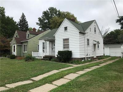 Cleveland OH Single Family Home For Sale: $89,630