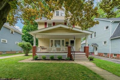 Fairview Park Single Family Home Active Under Contract: 4288 W 211th Street