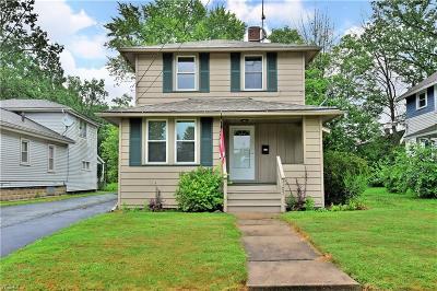 Warren Single Family Home For Sale: 1105 Willard Avenue