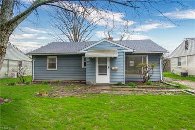 Girard Single Family Home For Sale: 606 Mosier Road