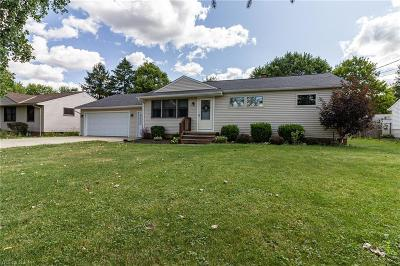 Strongsville Single Family Home Active Under Contract: 12479 Janette Avenue