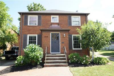 Cleveland OH Single Family Home Active Under Contract: $204,900
