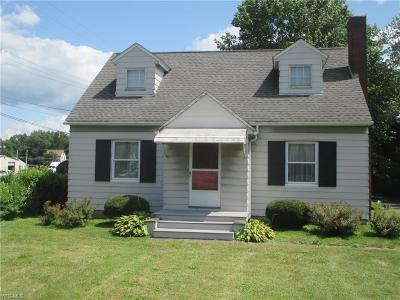 Struthers Single Family Home For Sale: 714 Youngstown Poland Road