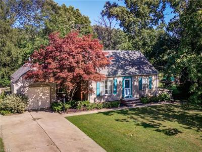 Fairview Park Single Family Home For Sale: 4687 W Park Drive