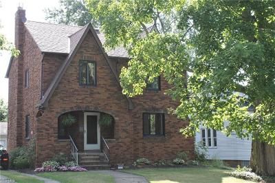 Cleveland OH Single Family Home For Sale: $184,900