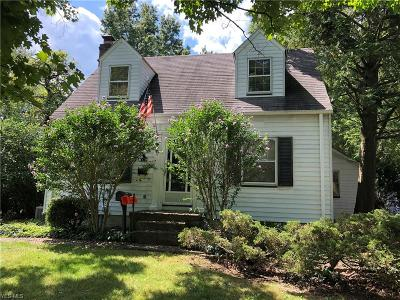 Canfield Single Family Home For Sale: 360 S Broad Street