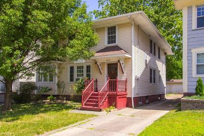 Lakewood Multi Family Home Active Under Contract: 1571 Warren Road