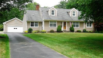 Youngstown Single Family Home Active Under Contract: 2898 Denver Drive