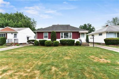 Cleveland OH Single Family Home Active Under Contract: $110,000