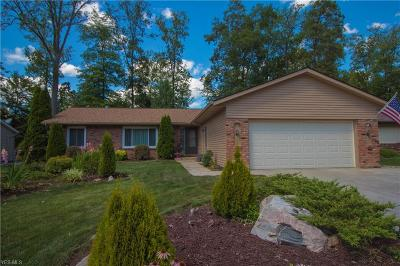 Strongsville Single Family Home Active Under Contract: 20442 Sandalwood Lane