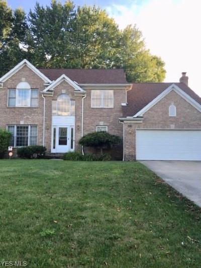 Twinsburg Single Family Home Active Under Contract: 10114 Dayflower Drive
