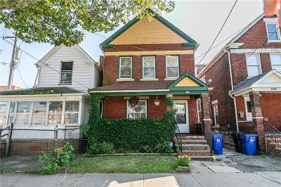 Cleveland Single Family Home For Sale: 1417 W 57th Street