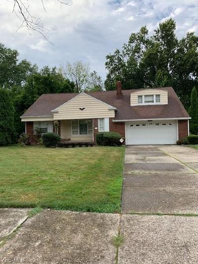 Cleveland Single Family Home For Sale: 15781 Cleviden Road