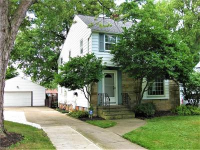 Fairview Park Single Family Home For Sale: 4180 W 222nd Street