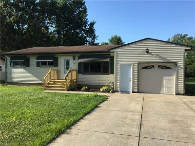 Painesville Single Family Home Active Under Contract: 470 Reed Avenue