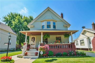 Cleveland Single Family Home Active Under Contract: 2311 Schell Avenue