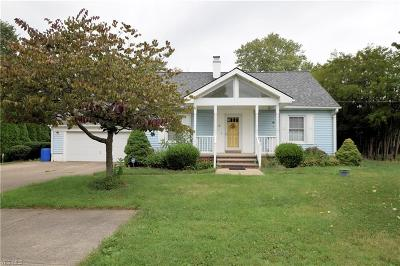 Middleburg Heights Single Family Home For Sale: 17200 Fowles Road