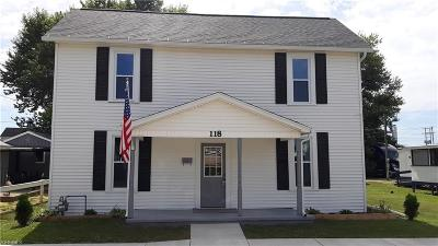 Byesville Single Family Home Active Under Contract: 118 N 9th Street