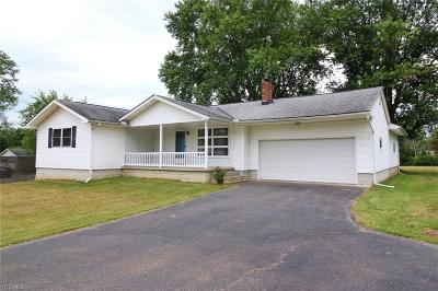 Muskingum County Single Family Home For Sale: 6475 Frazeysburg Road