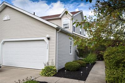 Streetsboro Condo/Townhouse For Sale: 1629 Maple View Court