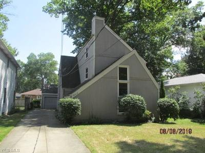 North Olmsted Single Family Home For Sale: 6017 Decker Road