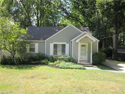Fairview Park Single Family Home For Sale: 22955 Westwood Road