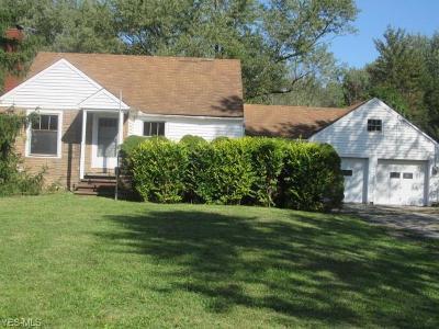 Chagrin Falls Single Family Home For Sale: 8050 Bainbridge Road