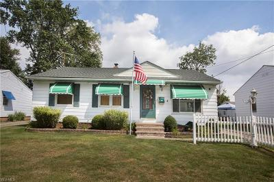 Cleveland Single Family Home For Sale: 1016 Irving Avenue