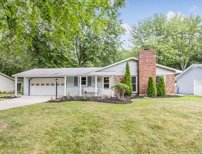 Mentor Single Family Home Active Under Contract: 8363 Fairfax Drive