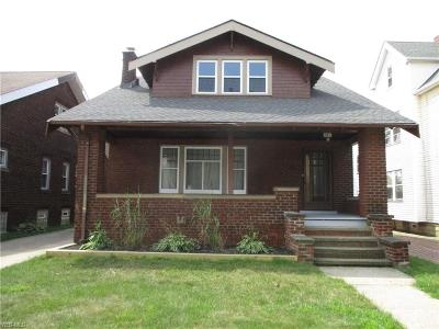 Cleveland Single Family Home For Sale: 9006 Rosewood Avenue